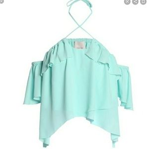 Cinq A Sept Gorgeous Off Shoulder Carla Blouse!